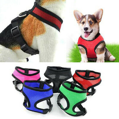 Breathable Small Dog Pet Harness Puppy Vest Harness Collar Chihuahua Chest Strap