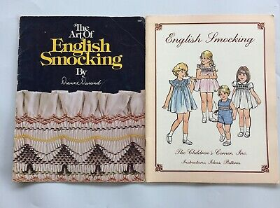 English Smocking Children's Corner & Dianne Durand Pattern Magazine LOT x 2
