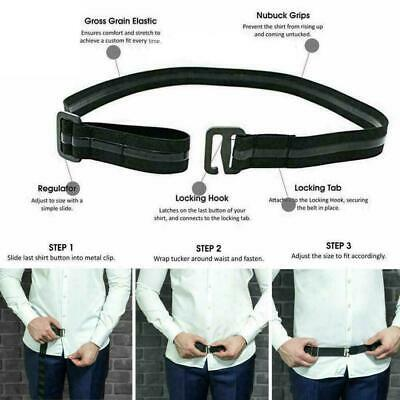 Shirt Holder Belt Adjustable Shirt Stay Best Belts for Women Men Work Inter O4Q2