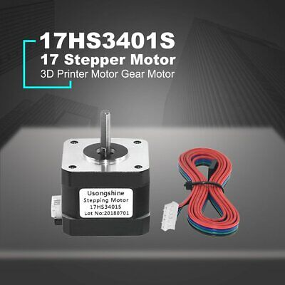 4-lead Nema 17 Stepper Motor 42 Motor 3D Printer Motor Gear Motor 17HS3401S