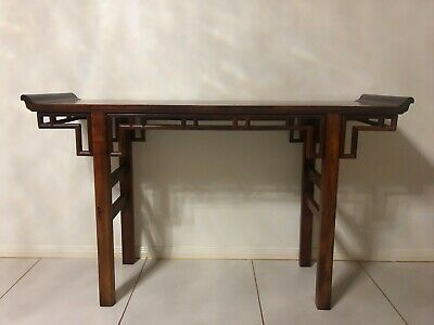 Chinese Huanghuali Wood Altar Table Mid to Late 20th Century 153 x 90 x 45 cm