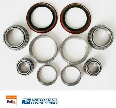 2x Front Wheel Bearing Inner and Outer W/Seal Kit for 1997-2003 FORD F-150 2WD