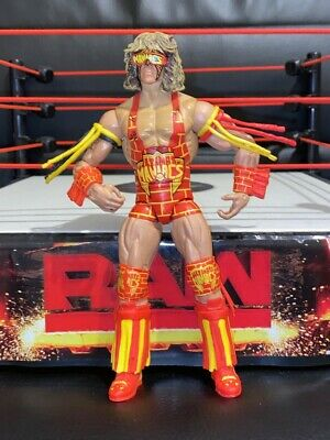 Ultimate Warrior Elite Defining Moments Figure Mattel Ultimate Maniacs WWE