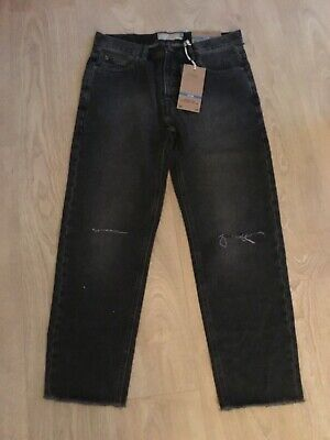 Next Men's Slim Grey Denim Jeans Size 30R New With Tags RRP £40