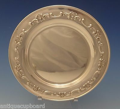 "Strasbourg by Gorham Sterling Silver Bread & Butter Plate 6"" Diameter (#3072)"