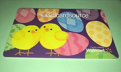 Walmart Painted Easter Eggs Gift Card No $ Value Collectible