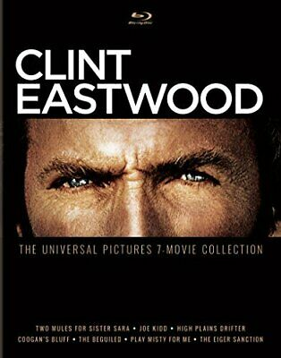 Clint Eastwood: Universal Pictures 7 -Movie Coll New Bluray