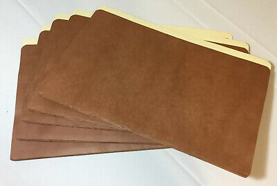 """5 Oxford Expanding File Pockets Up To 3"""" 14.75""""X9"""" Brown"""