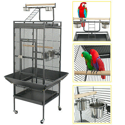 """61"""" Large Bird Cage Large Play Top Parrot Finch Cage Pet Supplies Removable Part"""