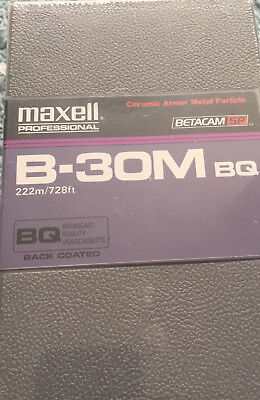 X10 Betacam Sp B-30M BQ Brand New And Sealed In Original Box VHS// Cassette Tapes