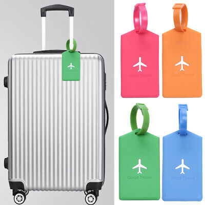 Portable Travel Luggage Tag Baggage Suitcase Bag Identity Address Name Labels