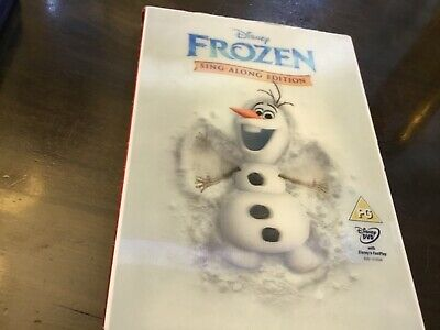 Walt Disney - Frozen - Dvd With Holographic Slipcase - Sing-Along Edition