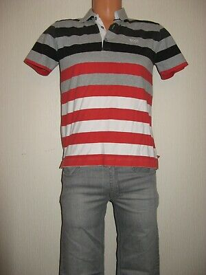 Used Once Boys Hugo Boss Bundle Pale Grey Jeans & Short Sleeve Polo Top Age 12/4