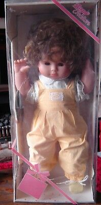 """Zapf Creation Monique doll. NIB. Approximately 22"""" tall. Made in West Germany"""