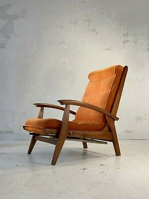 1950 GUY BESNARD FREESPAN FAUTEUIL MODERNISTE RECONSTRUCTION ARP Caillette Motte