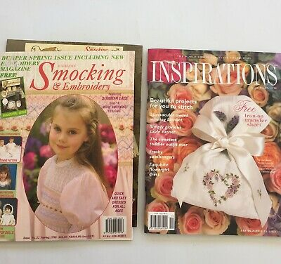 Australian Smocking Embroidery Country Bumpkin 2 Issue 19/22  Pattern Magazine