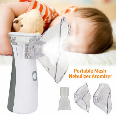 Portátil Ultrasonic Nebulizador portátil Mini Atomizing Machine Respirator Inhal