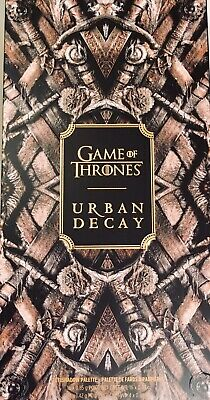 URBAN DECAY Game of Thrones AUTHENTIC Eyeshadow Palette BRAND NEW Ltd. Edition!
