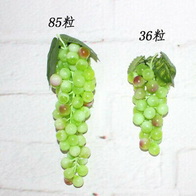 Artificial Grapes Fake Fruit Home Decoration Wedding Party Supply Deocor LP