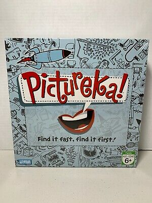 Pictureka! Board Game Parker Brothers Family Game 2+ Players for Ages 6+ Sealed