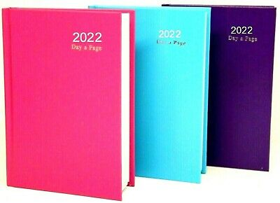 2020 diary A4/A5/A6 Page a Day/Week to View Diary Hardback Casebound Black cover
