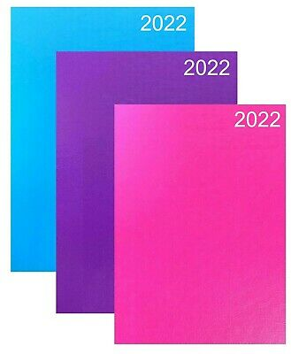 2020 Diary A4/A5 Pastel Colour Fashion Diary Week to View, Day A Page Desk Diary