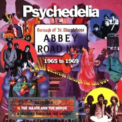 Psychedelia At Abbey Road: 1965-1969 -  CD NRVG The Cheap Fast Free Post The