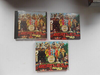 The Beatles-Sgt.peppers Lonely Hearts Club Band-13 Track Cd+ Slipcase-Italy-1987