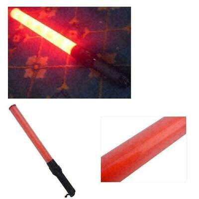 Red Traffic Safety Light Baton Warning LED Light Road Control-Outdoor- Safe X4Q0