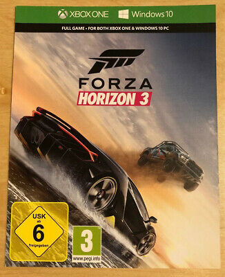 Forza Horizon 3 Digital Code - Xbox One/Windows 10 PC