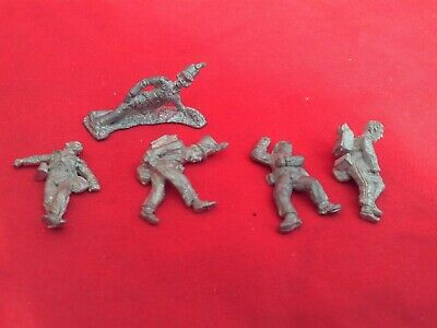 WARGAMES 28mm WHITE METAL NAPOLEONIC FRENCH & BRITISH CASUALTIES X 5 NEW