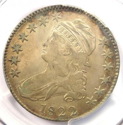 1822 Capped Bust Half Dollar 50C O-103 - PCGS XF Details - Rare Certified Coin!