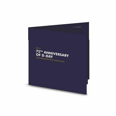 2019 D-Day 75th Anniversary $1 Uncirculated 4-Coin Set