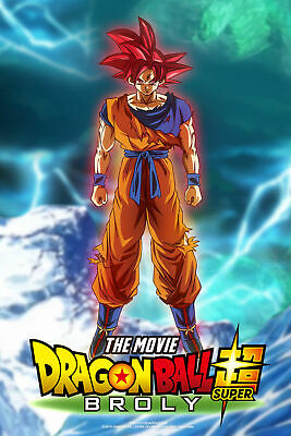 PacPrints Bogof  A3//A4 Dragon ball super broly  movie poster v3