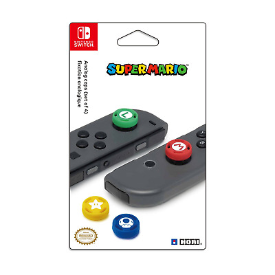 HORI Nintendo Switch Super Mario Analog Caps Officially Licensed By Nintendo -