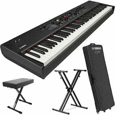 Yamaha CP88 88-Key Balanced Hammer Stage Piano w/Sustain Pedal,Stand, Piano Case