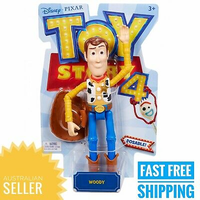 Disney Pixar Toy Story 4 - Woody Fully Articulated - Toy Award Finalist