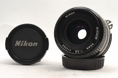 @ Ship in 24 Hours! @ Nikon Ai Nikkor 35mm f2.8 Wide-Angle Manual Focus Lens