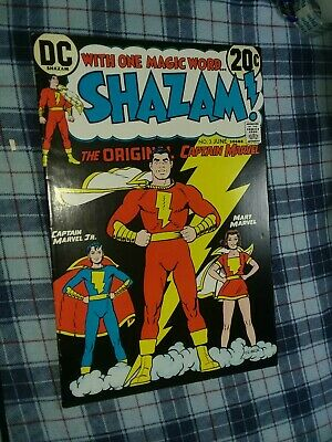 NM- Shazam 4 50/% off Price Guide! 9.2 Captain Marvel 1973