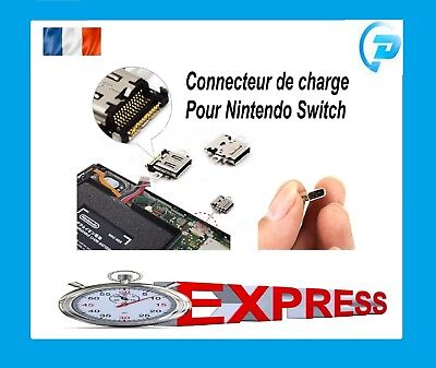 Connecteur port de charge alimentation pr NINTENDO SWITCH NS power USB type-C