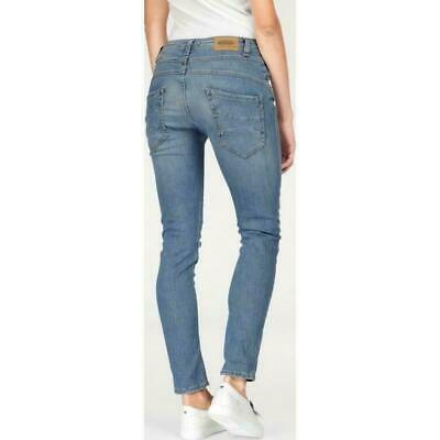 Arizona Jeans Boyfriend NEU L-Gr.72,76,80 Damen Capri Hose Stretch 7//8 Blue Used