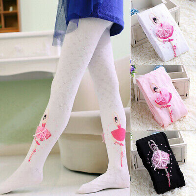 Soft Baby Girls Toddler Kids Tights Stockings Pantyhose Pants Cotton Stretch Fit