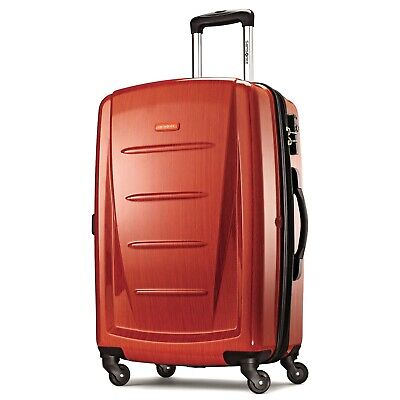 "Samsonite Luggage Winfield 2 Fashion HS 24"" spinner Orange 56845-1641"