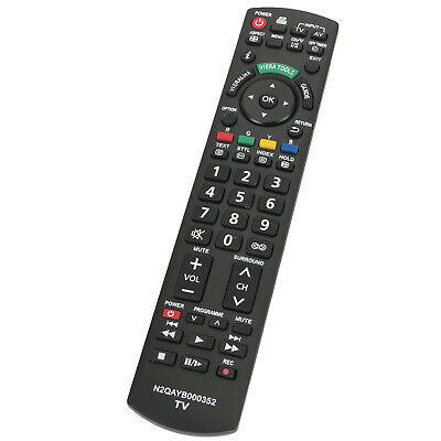 New N2QAYB000352 Remote Control for Panasonic Viera LCD TV TH-P50X10A THP50X10A