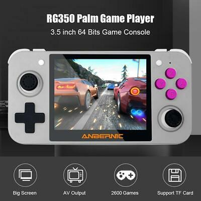 RG350 3.5 inch IPS Screen Handle Retro Video Game Console Player 16G 64 Bits