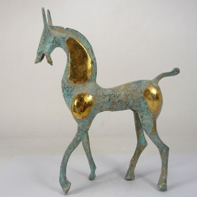 Collectable old handwork beautiful copper horse decoration statue
