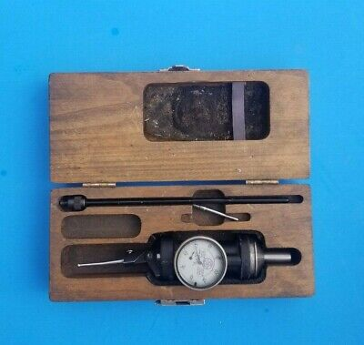 Blake Co-Ax Indicator .0005 Machinist Tools W/Original Box & Long Probe