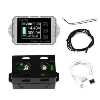 DC 400V 300A Wireless Bi-directional Ammeter Voltmeter Capacity Volt Power Meter
