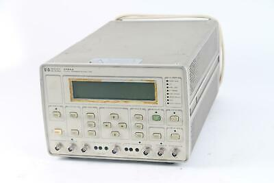 HP Hewlett Packard 3784A Digital Transmission Analyzer