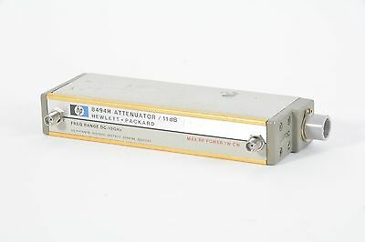 HP 8494H Attenuator / 11dB Freq Range DC-18Ghz W/ Option 002